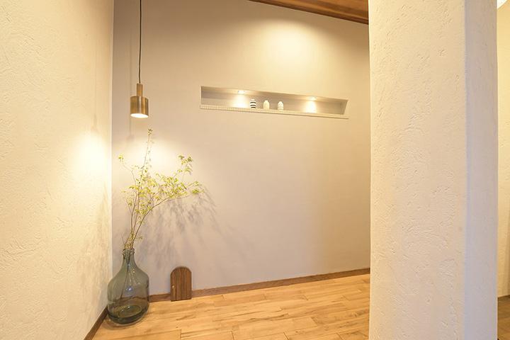 姫路市の自然素材を使った注文住宅のインテリア
