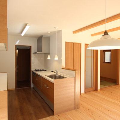 姫路市の注文住宅 キッチン