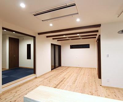 姫路市の注文住宅  リビング