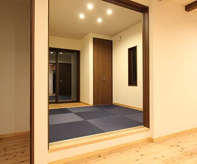 姫路市の注文住宅  上げ床畳