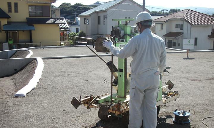 姫路市の工務店が調査する地盤