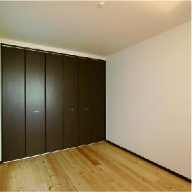 姫路市の無垢の家づくりのBed Room