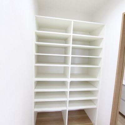 姫路市の注文住宅 Y様邸のパントリー収納