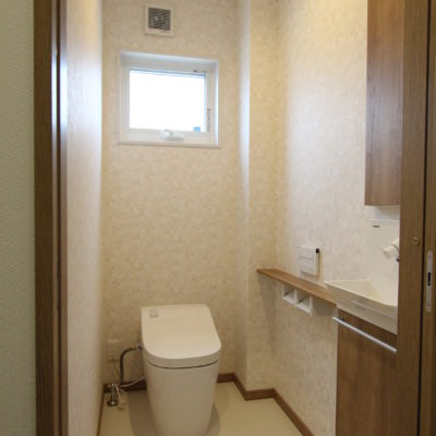 姫路市の注文住宅 トイレ