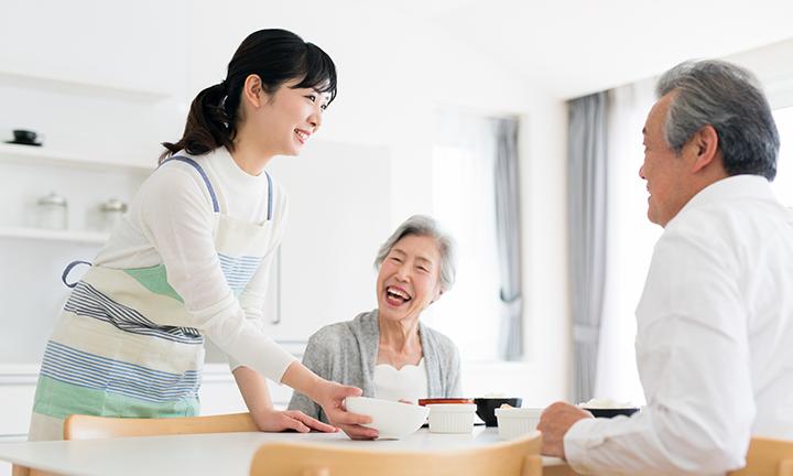 姫路市の二世帯住宅で老後の面倒も安心