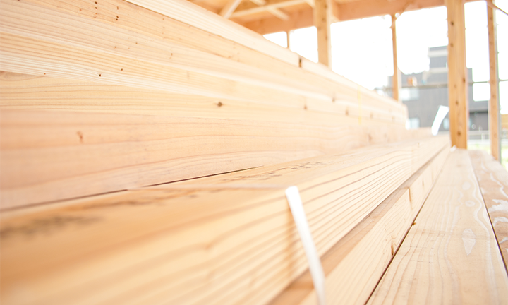 姫路市の木の家のこだわりの木材