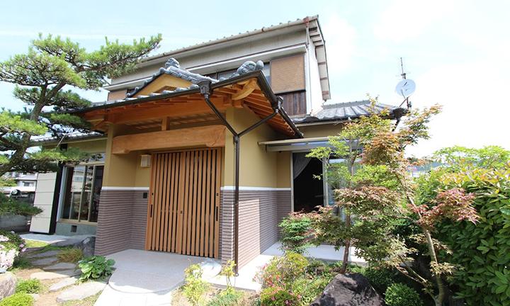 姫路市の木の家の一軒家のモデル