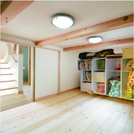 姫路市の無垢の家づくり・SKIP Storage