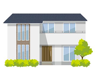 姫路市でコストを抑えための40坪の家のイメージ