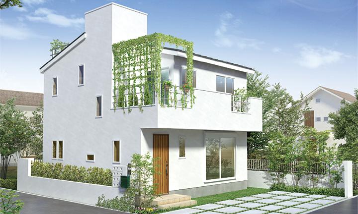 姫路市の無垢の家づくり、VERDE-Style外観