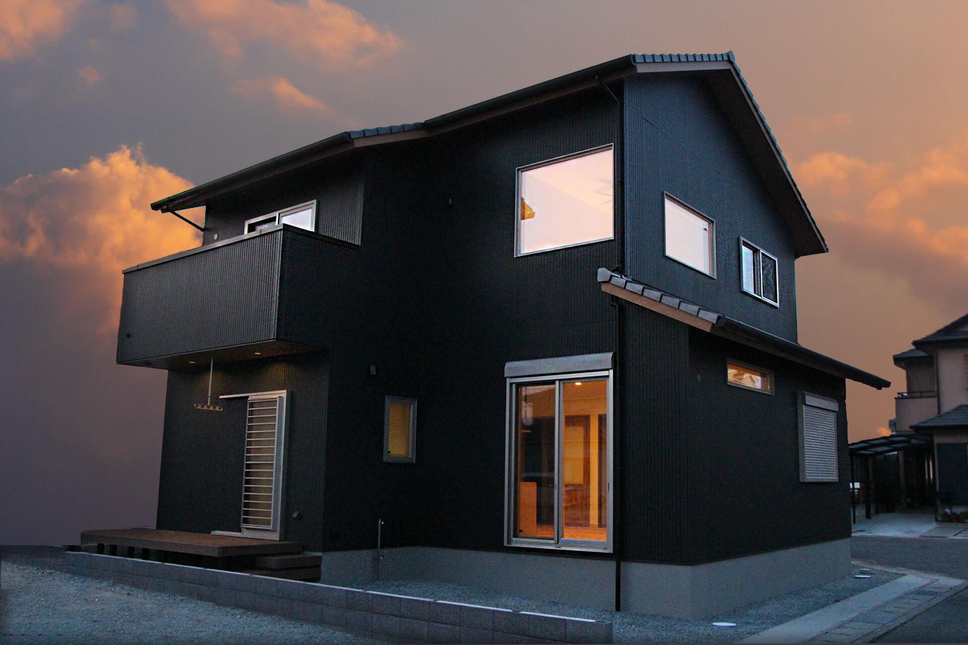 姫路市の注文住宅 外観